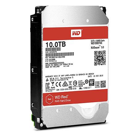 Les disques durs WD RED et RED Pro débarquent en version 10 To