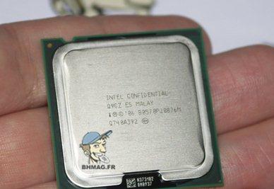 Processeur E8500 et chipset P965 : ça marche !