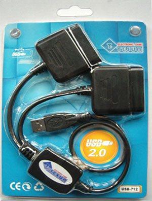 Test de l'adaptateur PSX USB-712