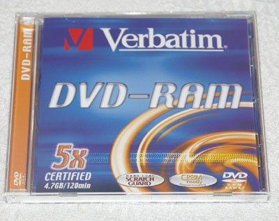 Dossier : le format dvd-ram