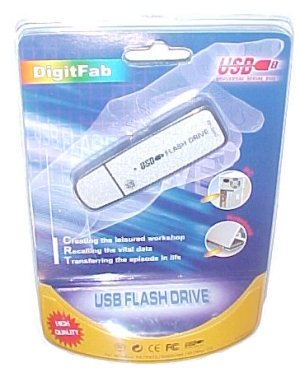 Test de la clé usb Flash Drive USB 64 Mo