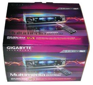 Test du lecteur Gigabyte GO-M1600A