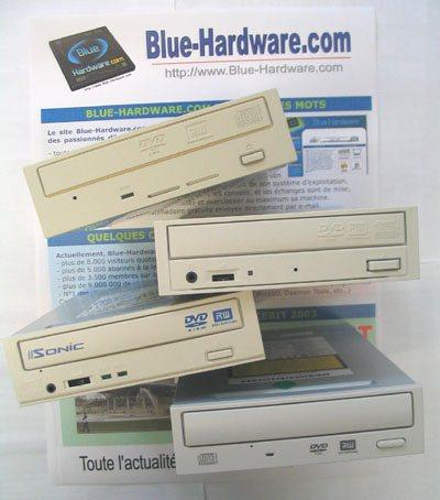 Comparatif de graveurs DVD 4x