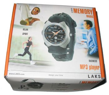 Test de la montre LAKS Memory Music