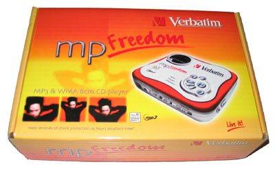 Test du baladeur Verbatim mpFreedom Live-It !