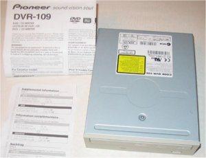 Consulter notre test du PIONEER DVR-109D