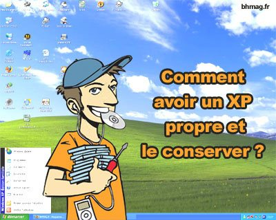 Windows XP propre et optimiser