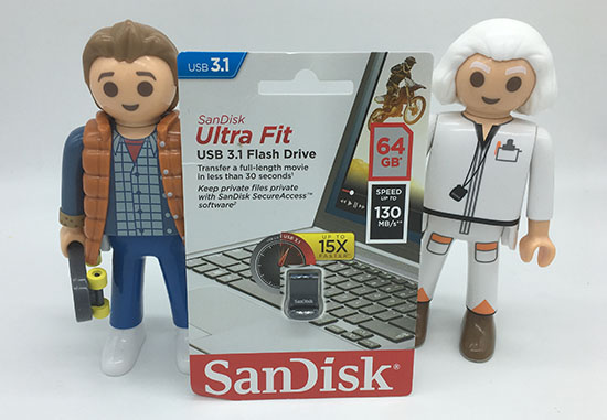 Nouvel article sur Bhmag : le test de la clé usb SanDisk Ultra Fit 3.1 de 64 Go