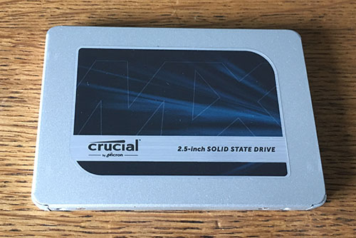 Test du SSD Crucial MX500 de 1 To