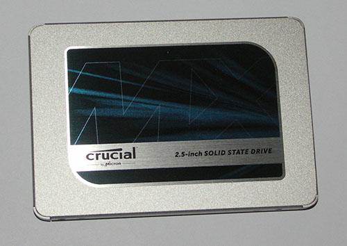 Test du SSD Crucial MX500 de 500 Go