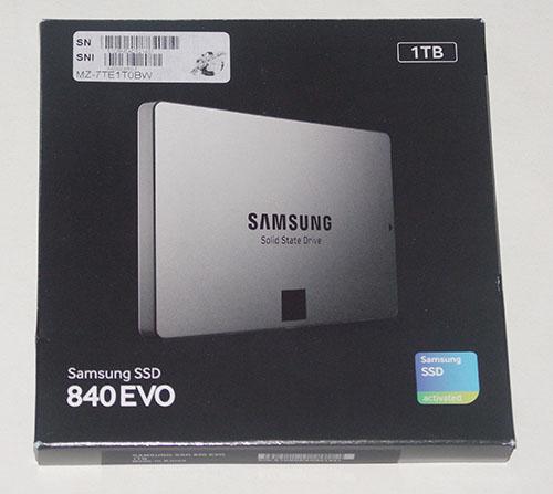 Test du SSD Samsung 840 EVO de 1 To