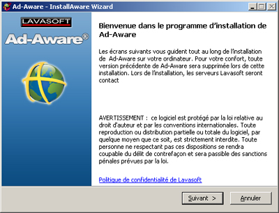 LavaSoft publie une nouvelle version de son anti-spyware Ad-Aware