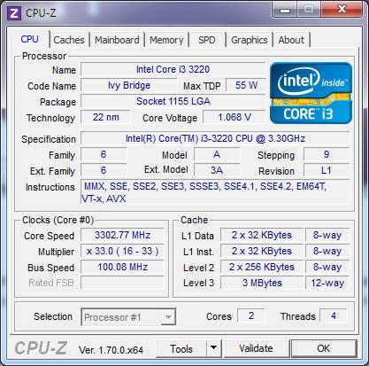 CPU-Z 1.71 supporte de nouveaux composants et Windows 10