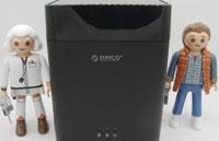 Test de la station d'accueil ORICO DS200U3 pour disques durs de 3,5 pouces