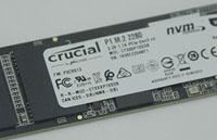 Test du SSD M.2. NVMe Crucial P1 de 500 Go