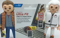 Test de la clé usb SanDisk Ultra Fit 3.1 de 64 Go