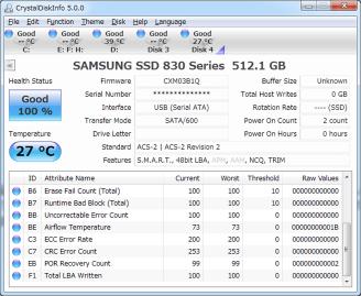CrystalDiskInfo améliore le support des SSD et passe en version 5.5.0