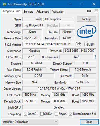 GPU-Z 2.1.0