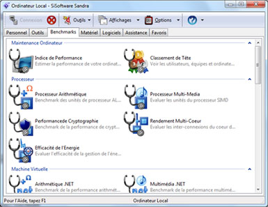 La version 2014 SP2 de Sandra vient de sortir. Windows XP n'est plus supporté !