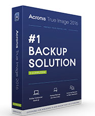 Acronis True Image 2016 version 19.0 Build 6571
