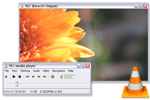 VLC Media Player passe en version 1.05