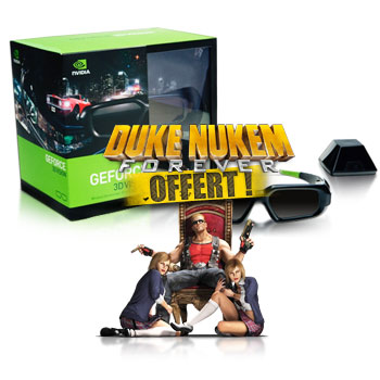 nVIDIA offre Duke Nukem Forever avec ses kits 3DVision