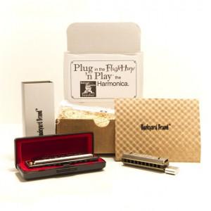 FlashHarp : un harmonica qui fait aussi clé usb