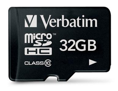 Verbatim microSDHC 32go