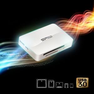 Un lecteur de cartes mémoires USB 3.0 tout en un