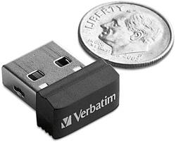 Une mini clé usb chez Verbatim