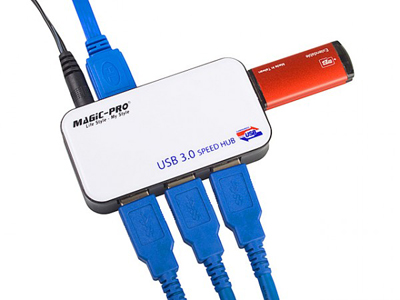 Magic Pro : un hub avec 4 ports USB 3.0