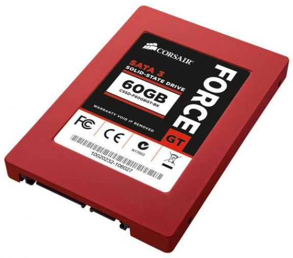 Corsair lance ses SSD Force GT…