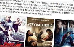 Le TOP 10 des films les plus piratés en 2011