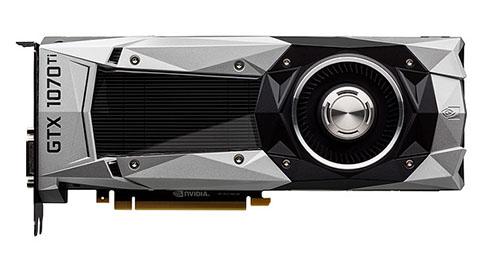 Une nouvelle carte chez NVIDIA : la GeForce GTX 1070 Ti