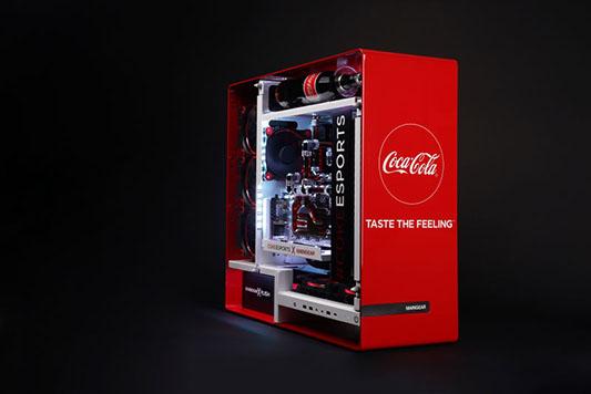 Insolite : un PC gamer pour les amateurs de Coca Cola !