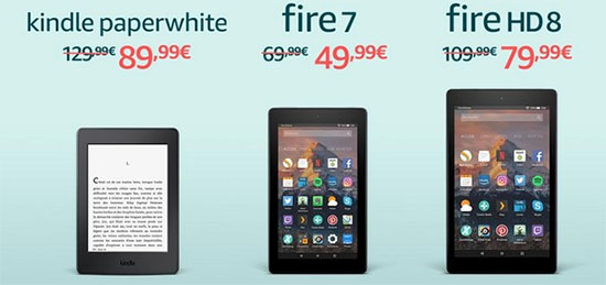 Black Friday : des tablettes et liseuse en promo sur Amazon.fr