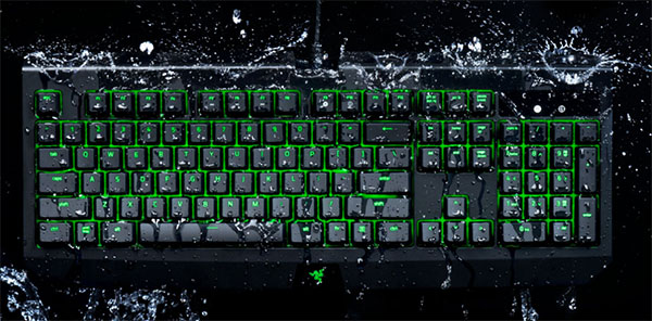 Blackwidow Ultimate : un clavier étanche signé Razer