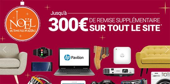 Bon Plan : de 10 à 300 euros de remise sur le site RueDuCommerce