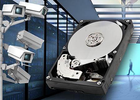 Un disque dur de 10 To spécialisé dans la vidéo surveillance chez Toshiba