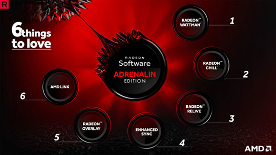 Drivers AMD Adrenalin en version 18.5.1