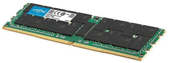 Une barrette de 128 Go de RAM DDR4 chez Crucial