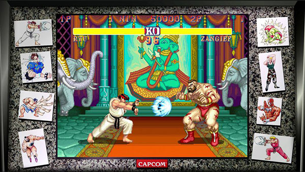 Capcom fête les 30 ans de Street Fighter avec une compilation reprenant les 12 premiers épisodes du jeu