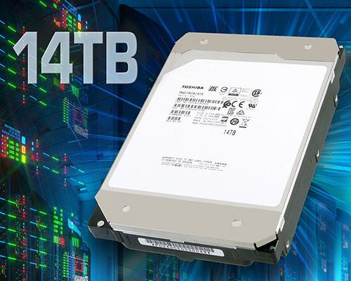 Toshiba lance le MG07ACA : un disque dur de 14 To à l'hélium pour les entreprises