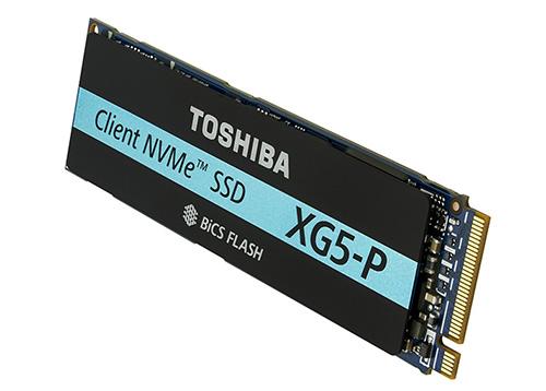 Toshiba présente le SSD XG5-P : un SSD NVMe qui envoie du lourd…