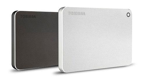 Trois nouveaux disques durs dans la gamme «Canvio» chez Toshiba