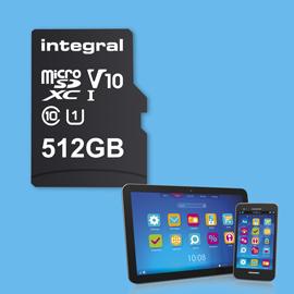 Integral Memory sort la première carte micro SDXC de 512 Go au monde, vraiment ?