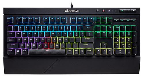 Corsair K68 RGB : un clavier gamer résistant à l'eau