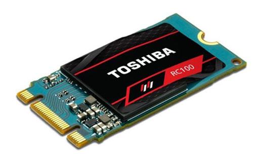 Le SSD Toshiba RC100 est maintenant une réalité (maj avec les tarifs)