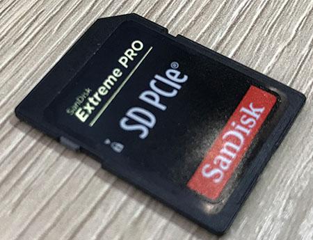 Western Digital dévoile une carte SD PCIe qui débite 800 Mo/s en lecture et 430 Mo/s en écriture