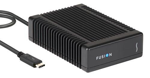 Sonnet Fusion : un SSD externe Thunderbolt 3 qui dépote mais qui coûte un bras…